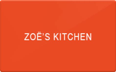 Zoes Kitchen Gift Card - buy zoes kitchen gift cards raise
