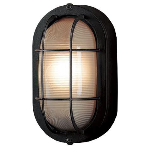 Shop Portfolio 8 27 In H Sand Black Outdoor Wall Light At Lowes Outdoor Lights