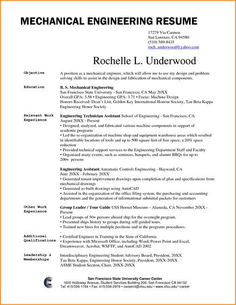 mechanical site engineer sample resume 19 resumes
