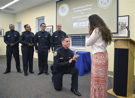 ceremony yields 10 new corrections officers and one