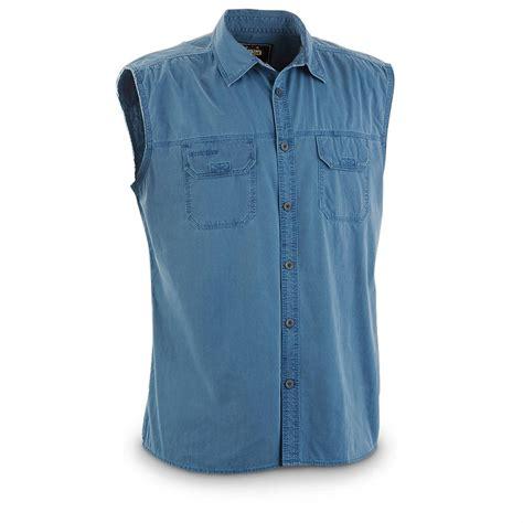 Sleeveless Shirt guide gear s big sky sleeveless shirt 613616 shirts