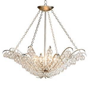 Currey And Co Chandelier Modern Glass Ball Bubble 4 Light Chandelier Kathy Kuo Home