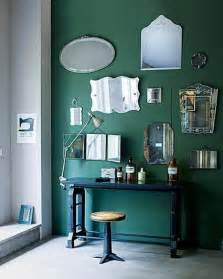 green wall paint decorating with green centsational girl