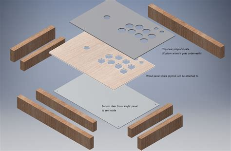 Woodwork Designs design building a wooden arcade stick case woodworking