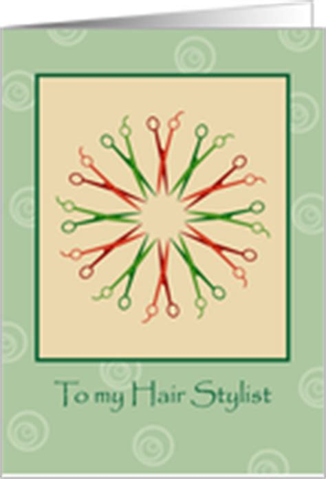 christmas greeting hair stylists cards for my hair stylist from greeting card universe