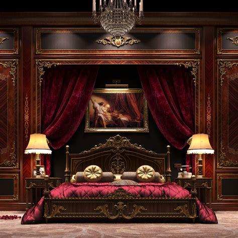 pure luxury bedroom scene 3d models and 3d software by 3ds max scene asnaghi bedroom