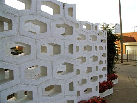 Decorative Concrete Block by Mid Century Decorative Concrete Screen Block Modern
