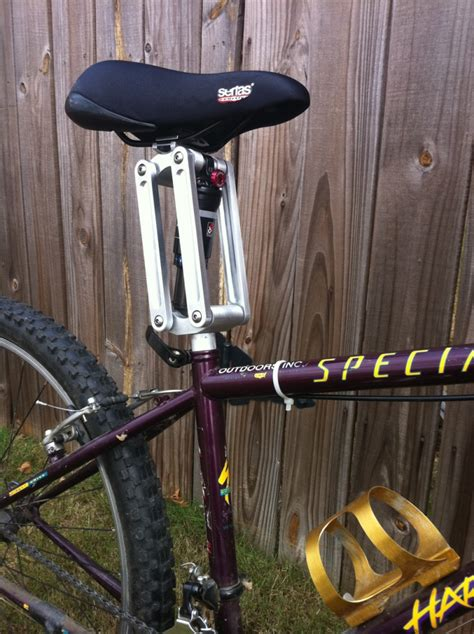 bike seat suspension kickstarter this is the best suspension seatpost made in the