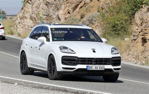 porch cayene 2018 porsche cayenne spied looking production ready