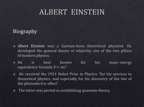albert einstein biography and discoveries g4 pre