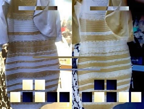 Baju White Gold Or Blue Black is the blue and black versus white and gold dress illusion a new discovery quora