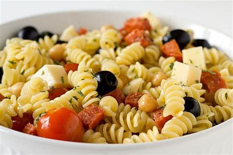 pasta salad recipes with italian dressing italian pasta salad recipe