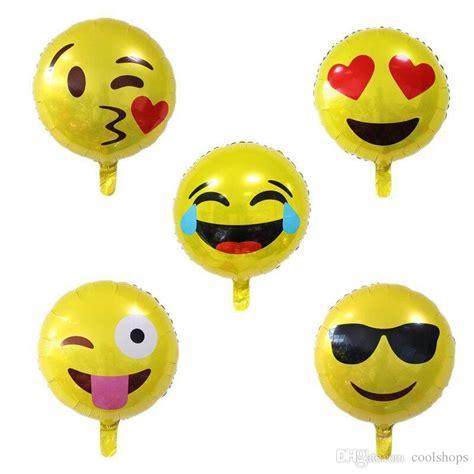 Balon Emoticon Emoji New 18 inch emoji foil balloon happy birthday emoticons