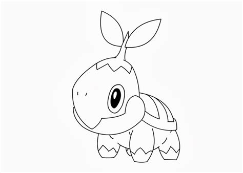 pokemon coloring pages turtwig 08 27 13 free coloring pages and coloring books for kids