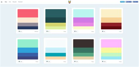 color hunt color palette websites for color hunters repick co