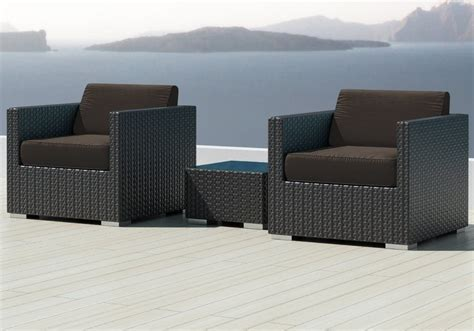 Sunbrella Sectional Sofa Luxxella Bistro 3pc Sunbrella Outdoor Sectional Sofa Set