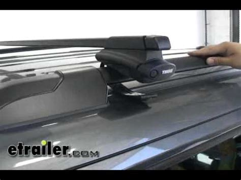 How To Remove Thule Roof Rack by Thule Crossroad Roof Rack Installation 2011 Honda Pilot