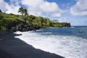 black sand hawaii 1 wai anapanapa black sand beach hawaii 171 cbs seattle