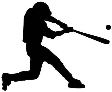 baseball player swinging bat clip art 115 best images about little league scrapbook things on