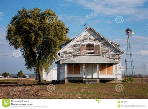 deserted house stock photo image of alton tree home
