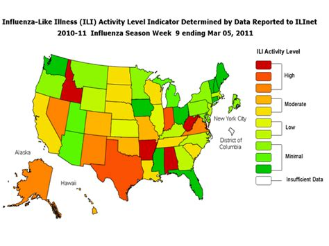 maryland flu map cdc seasonal influenza flu weekly report influenza