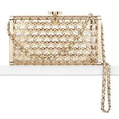 Chanel Kate Bosworth And Chanel Clutch Evening Bag by Kate Landry Social Peacock Minaudiere Clutch Evening Bag