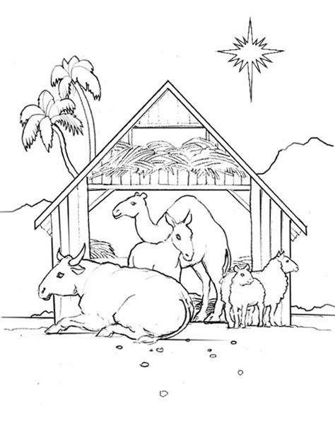 coloring pages of stable korner free coloring pages stable