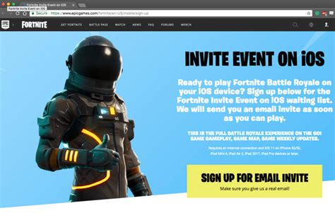fortnite mobile invite event beta