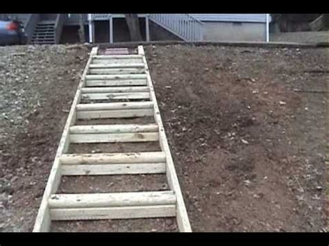 steps with landscape timbers wooden steps diy how to build wood steps up a hill pdf woodworking
