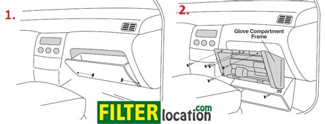 Where Is The Cabin Filter Located by Cabin Air Filter Location In 2013 Nissan Pathfinder