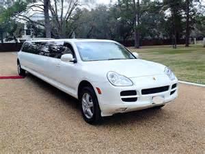 Porsche Limo Porsche Limousine Houston Tx Porshe Limo Houston