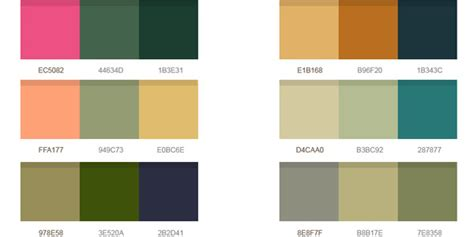 great color palettes 14 wonderful color palettes psd graphicsfuel