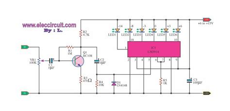 led temperature indicator circuit lm3914 battery voltage level indicator circuits circuit wiring diagrams