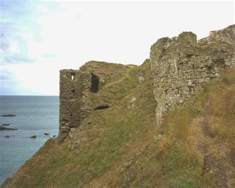 Records In Scotland Photograph Of Findlater Castle Scottish History Scotland