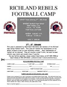 football sports camp poster template word amp publisher
