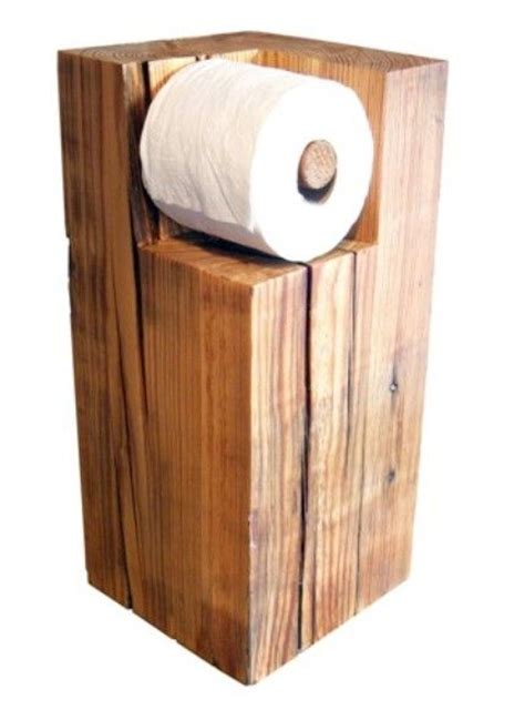 toilet paper holder wood wood toilet roll holder pallet wood ideas pinterest