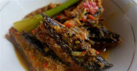 resep cakalang fufu santan enak  sederhana cookpad
