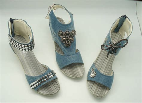 denim calceus sandal denim sandal shoe id