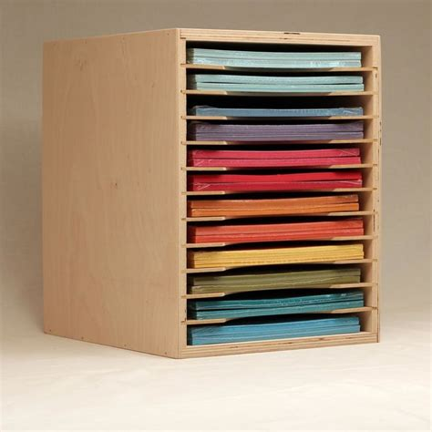 How To Make A Paper Organizer - 1000 images about paper storage on paper