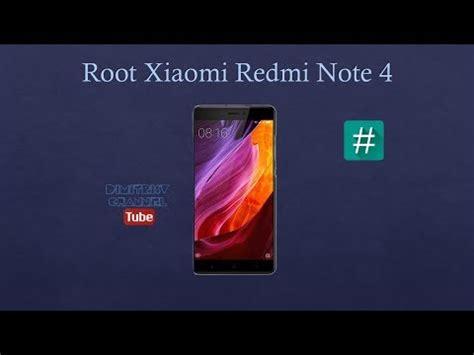 tutorial root xiaomi redmi note 2 root xiaomi redmi note 4 youtube