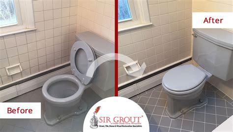 bathroom tile cleaning service a grout cleaning service repaired the floor and walls of