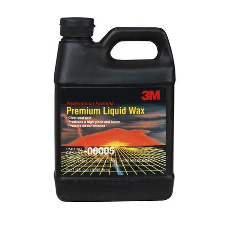 3m Car Care Premium Wax 350ml premium liquid wax 06005 1 quart