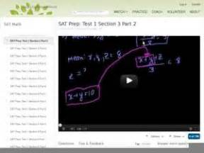 Sat Prep Test 1 Section 3 Part 2 9th 12th Grade Video