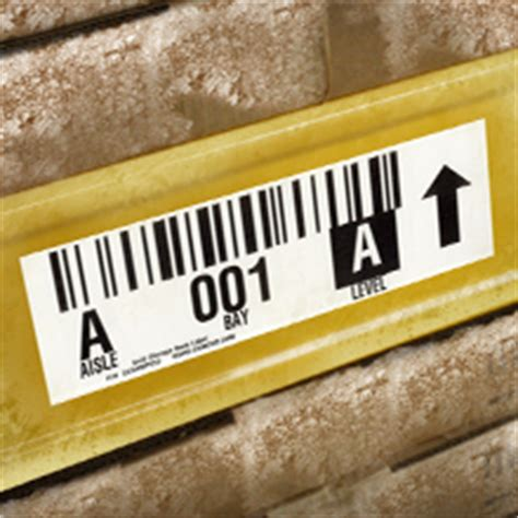 Rack Labels by Cold Storage Warehouse Rack Labels For Inventory