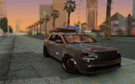 jeep grand all black gta san andreas jeep grand srt8 all black mod