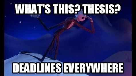 Nightmare Before Christmas Meme - thesis memes
