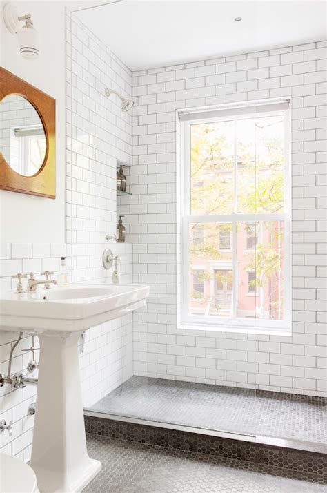 subway tile images widaus home design shower with white subway tiles and black grout