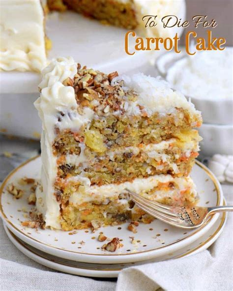 new year carrot cake recipe to die for carrot cake