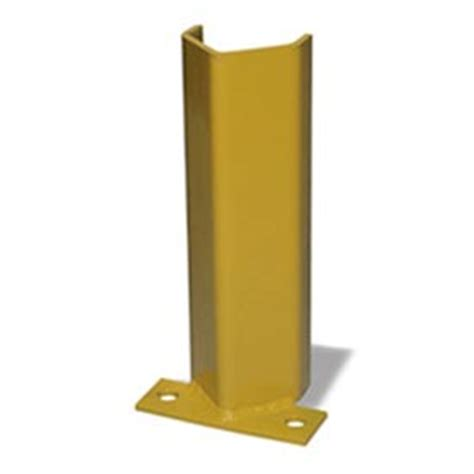 Parking Garage Column Protection by Traffic Parking Lot Safety Protectors Column Post