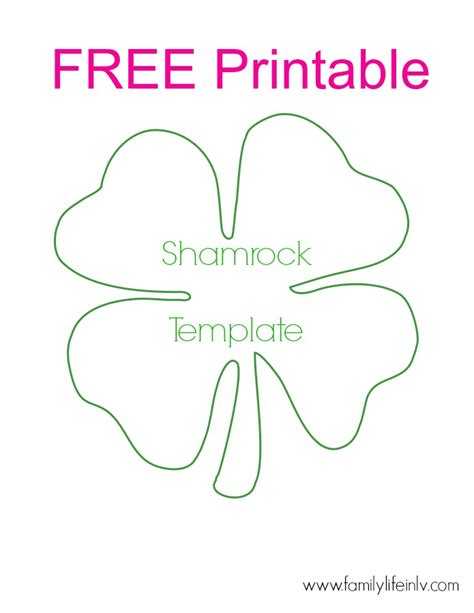 shamrock templates printable best photos of shamrock templates printable shamrock